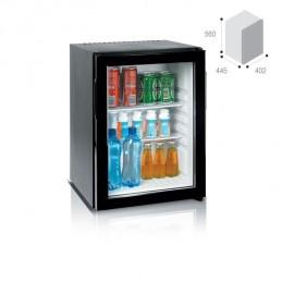 frigobar  VITRIFRIGO Vitifrigo HC40V frigobar 350 Vitifrigo HC40V frigobarLarghezza totale mm. 402,Porta Vetro HC40V-1