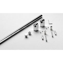 sottopensili  STONE Stone 8600 900 kit barra 600 mm 26 Complementi d'arredo: kit barra da 600 mm. 2 supporti, 2 tappi chiusra la